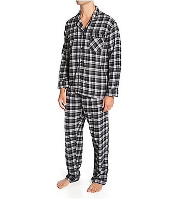 Hanes Plaid Flannel Pajama Set