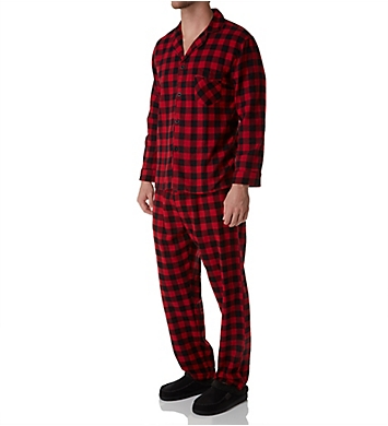 Hanes Tall Man Plaid Flannel Pajama Set