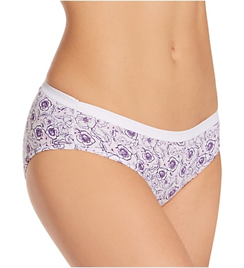 Hanes Cotton Hipster Panty - 6 Pack
