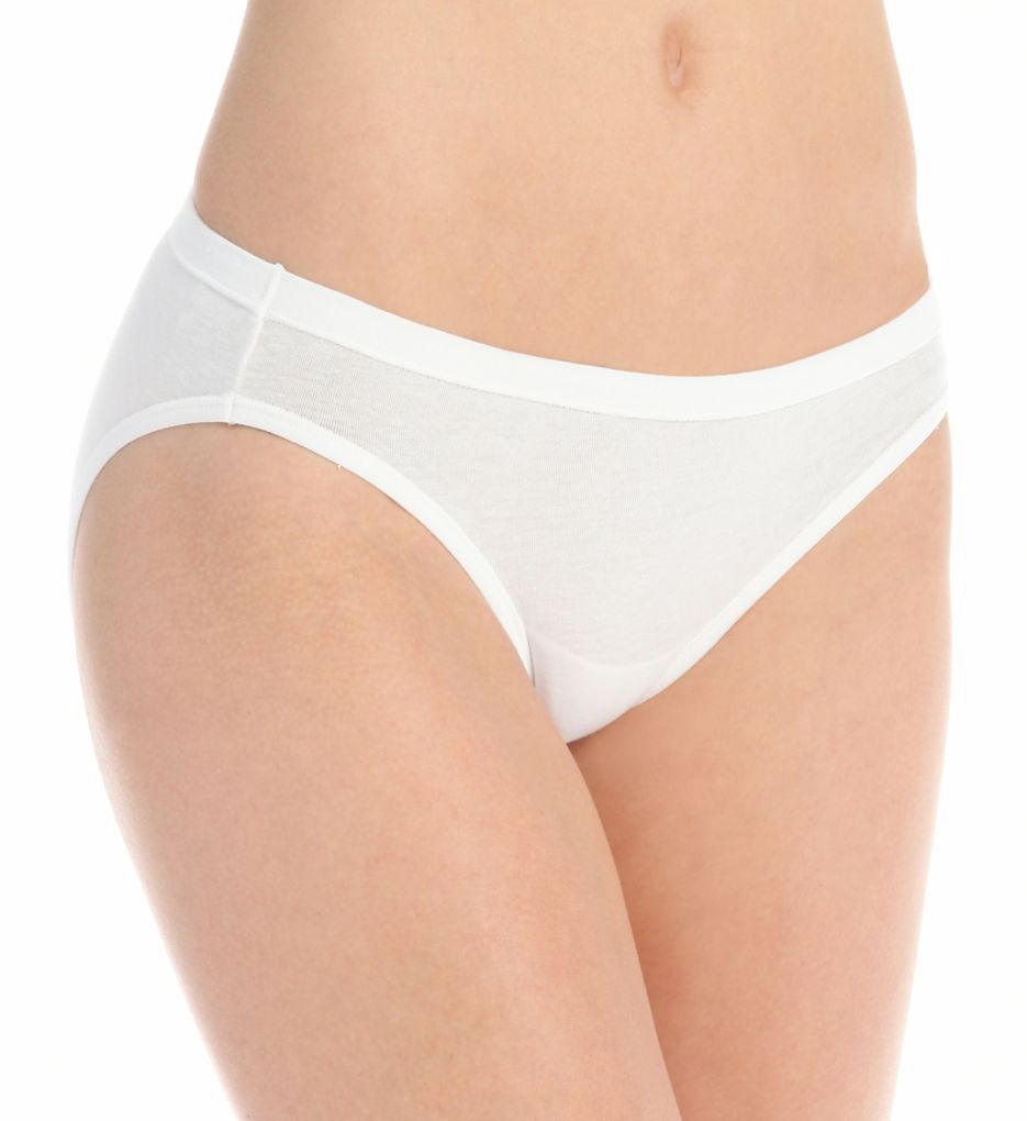 Hanes Cotton Stretch Waistband Bikini Panty - 3 Pack