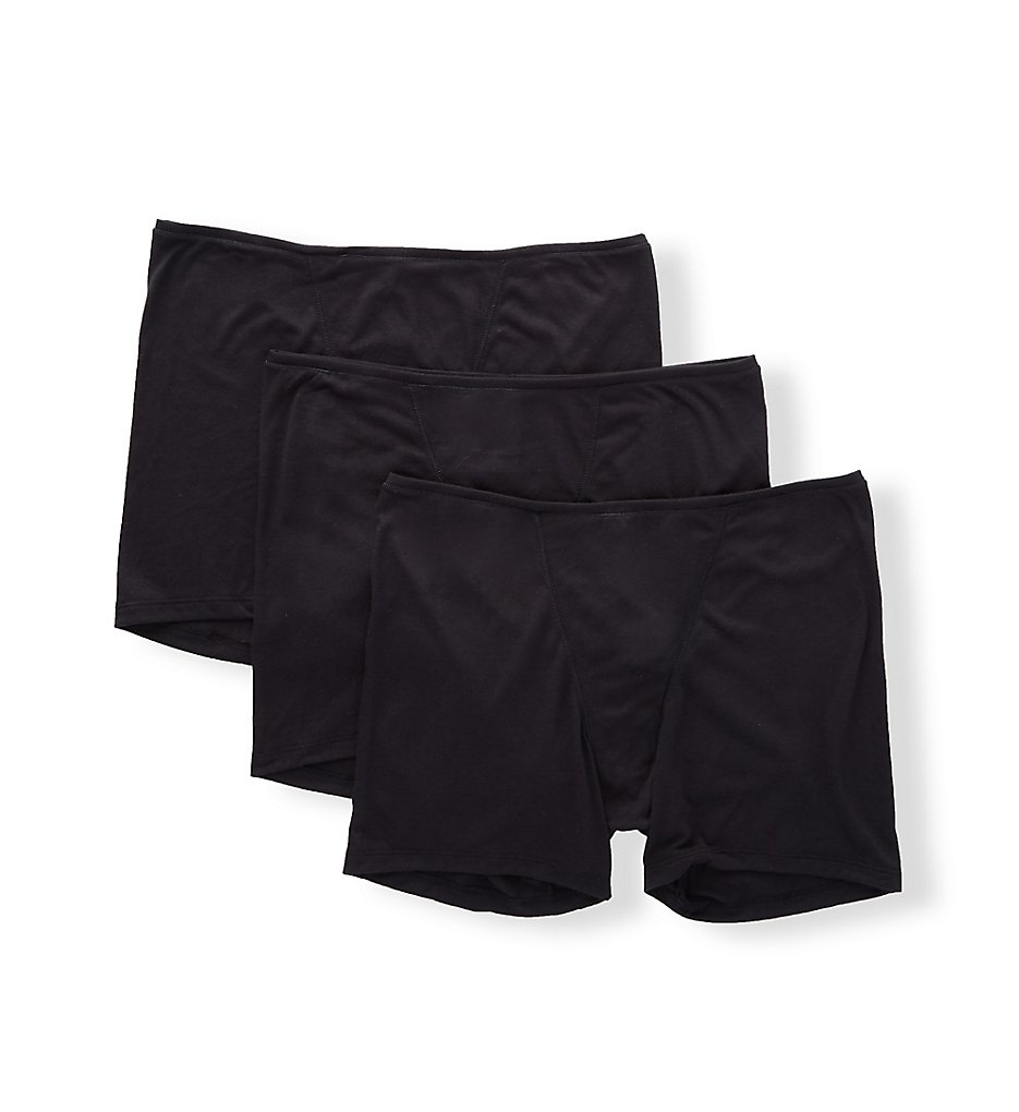 Hanes - Hanes 47HUBB Ultimate ComfortSoft Lounge Boxer - 3 Pack (Black x3 S)
