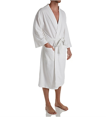 Hanes Tall Man Solid Waffle Knit Spa Robe