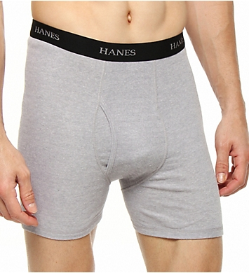 Hanes Big Man Cotton Stretch Boxer Briefs - 4 Pack