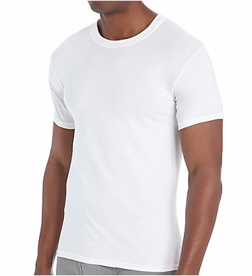 Hanes Big Man Premium Cotton Crew Neck T-Shirts - 5 Pack