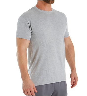Hanes Premium Cotton Assort Crew Neck T-Shirts - 3 Pack