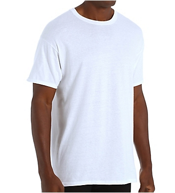 Hanes Tall Man Premium Cotton Crew Neck T-Shirt - 4 Pack