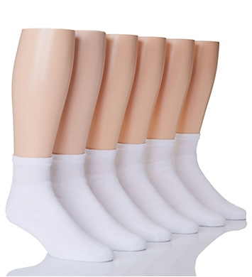 Hanes Classic ComfortSoft Ankle Socks - 6 Pack