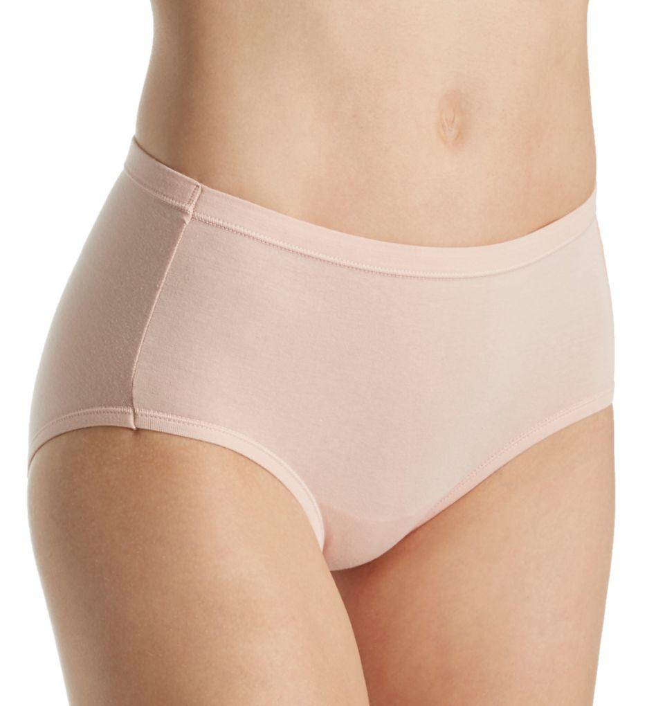 Hanes Comfort Soft Cotton Stretch Low-Rise Panty - 3 PK