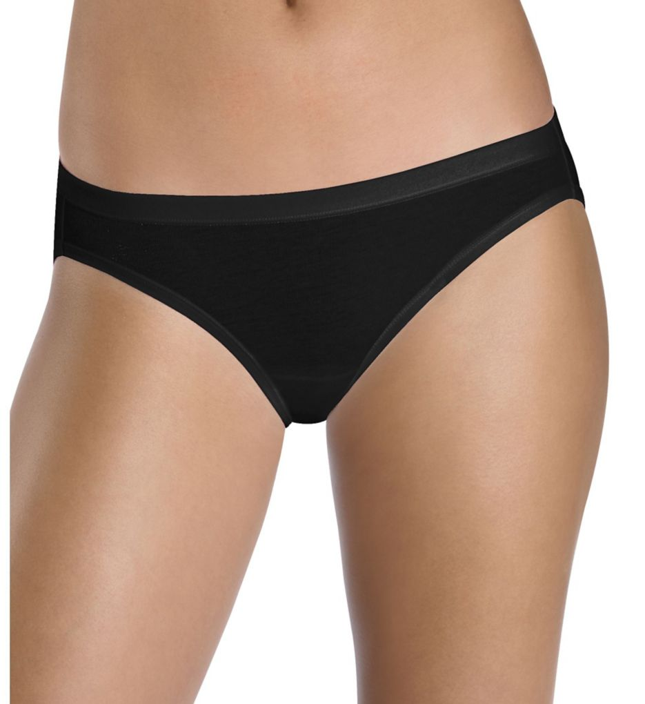 Hanes ComfortSoft Cotton Stretch Bikini Panty - 3 Pack