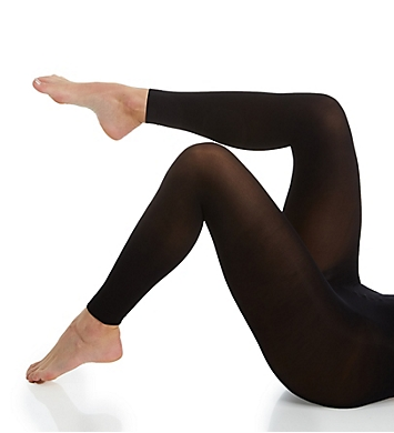 Hanes Opaque Footless Comfort Waistband Tights