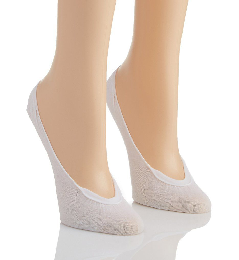 Hanes X-Low Cotton Foot Covers - 2 Pack