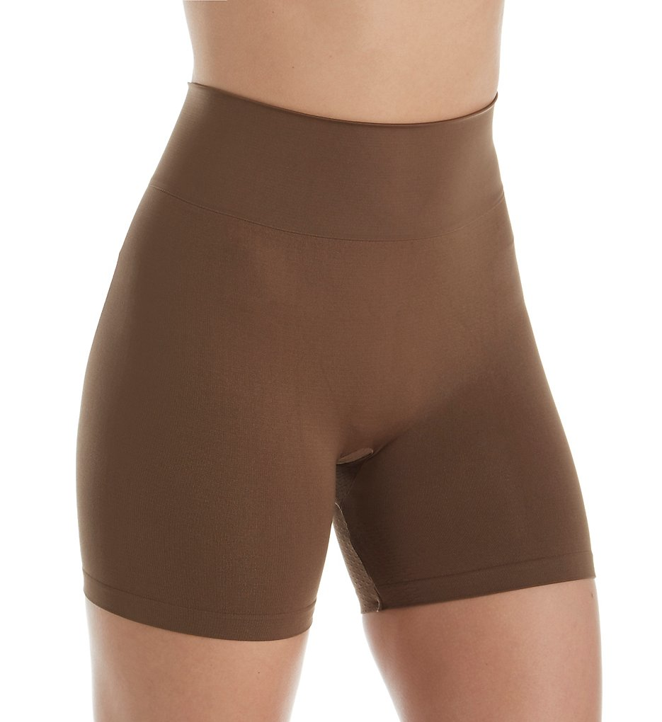 Hanes - Hanes HST006 Perfect Bodywear Seamless Short Panty (Tan S)