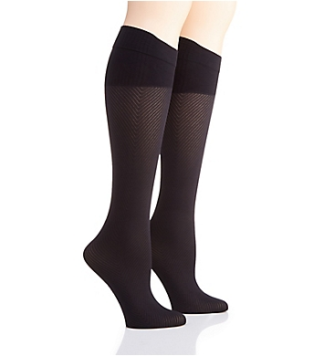 Hanes Perfect Socks Geo Compression - 2 Pair