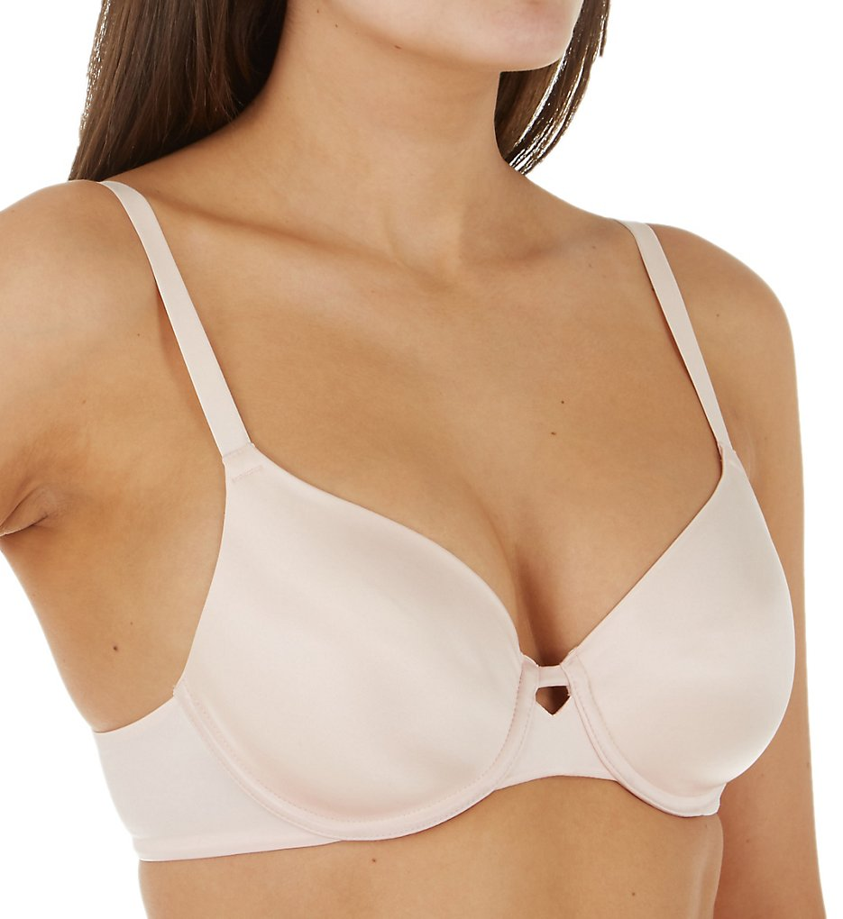 Hanes HU33 Ultimate No Show Support Underwire Bra (Light Buff)