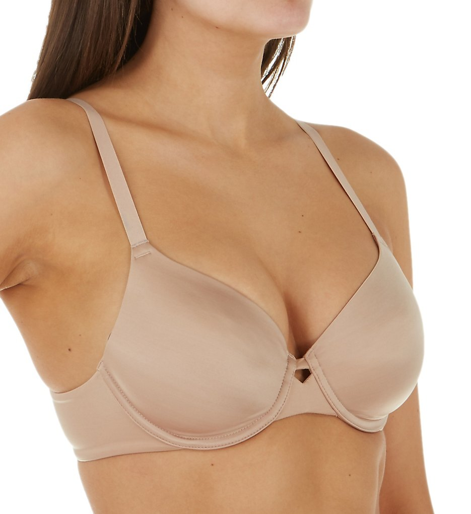 Hanes HU33 Ultimate No Show Support Underwire Bra (Nude)
