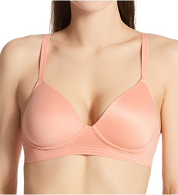 Hanes No Dig Support SmoothTec Wirefree Bra