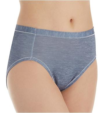 Hanes Cool Comfort Microfiber Hi-Cut Panty - 4 Pack