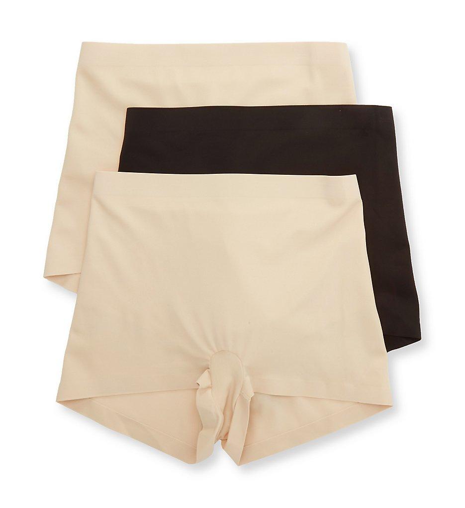 Hanes - Hanes MHH0034 Smoothing Boyshort Panty - 3 Pack (TransparentBlack XL)