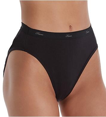 Hanes Super Soft Waistband Hi-Cut Panty - 10 Pack