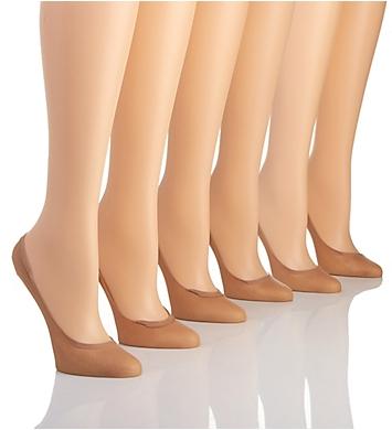 Hanes Silk Reflections Sheer Comfort Liner - 6 Pack