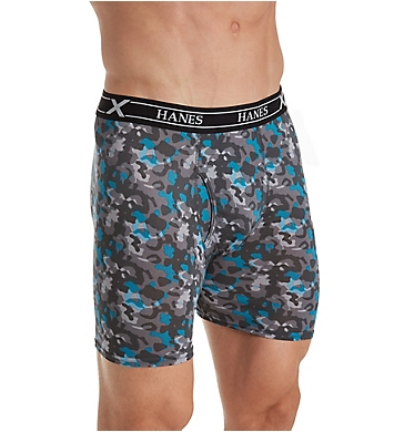 Hanes Ultimate X-Temp Performance Boxer Briefs - 3 Pack