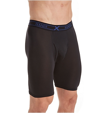 Hanes Ultimate X-Temp Long Leg Boxer Briefs - 3 Pack