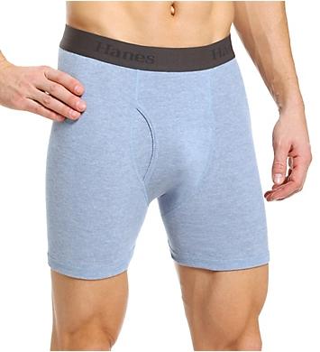 Hanes X-Temp Cotton Performance Boxer Briefs - 3 Pack