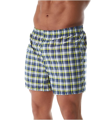 Hanes Millennial Tailored Back Seam Woven Boxer - 3 Pack