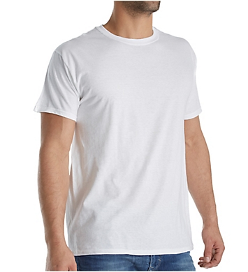 Hanes Platinum Crew Neck Extended Size T-Shirts - 4 Pack