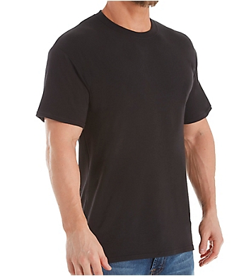 Hanes Platinum Stretch Crew Neck T-Shirts - 4 Pack
