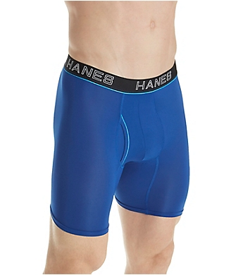 Hanes Platinum ComfortFlex Fit Boxer Briefs - 4 Pack