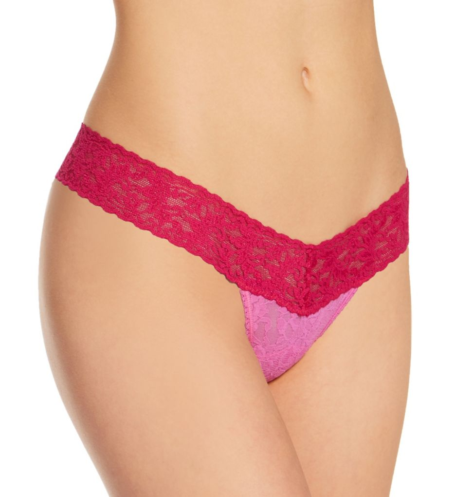 Hanky Panky Signature Lace Colorplay Low Rise Thong