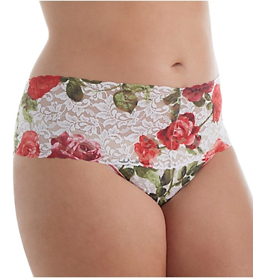 Hanky Panky Plus Size Retro Pattern Thong