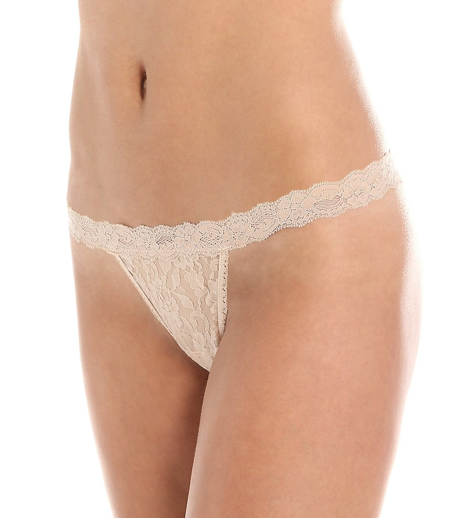 Hanky Panky - Hanky Panky 482051 Signature Lace G-String One Size (Chai O/S)