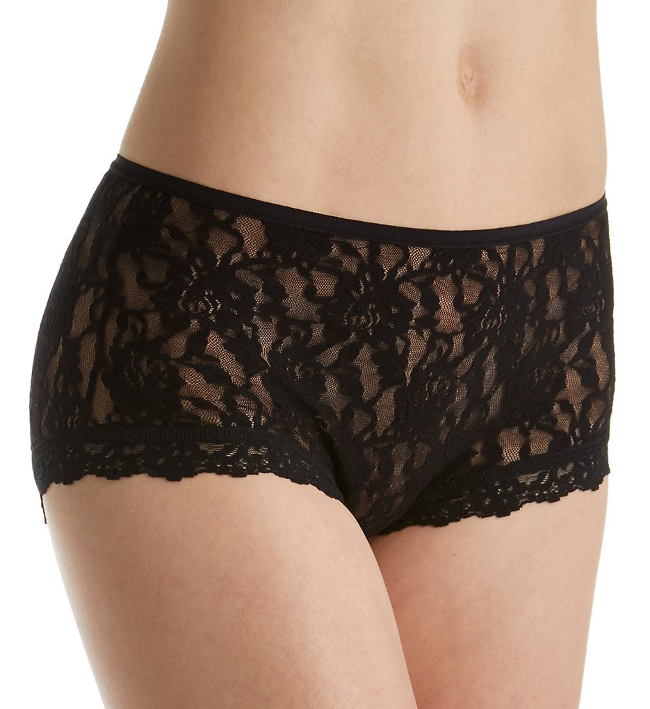 Hanky Panky : Hanky Panky 482222 Signature Lace Betty Brief Panty (Black XS)