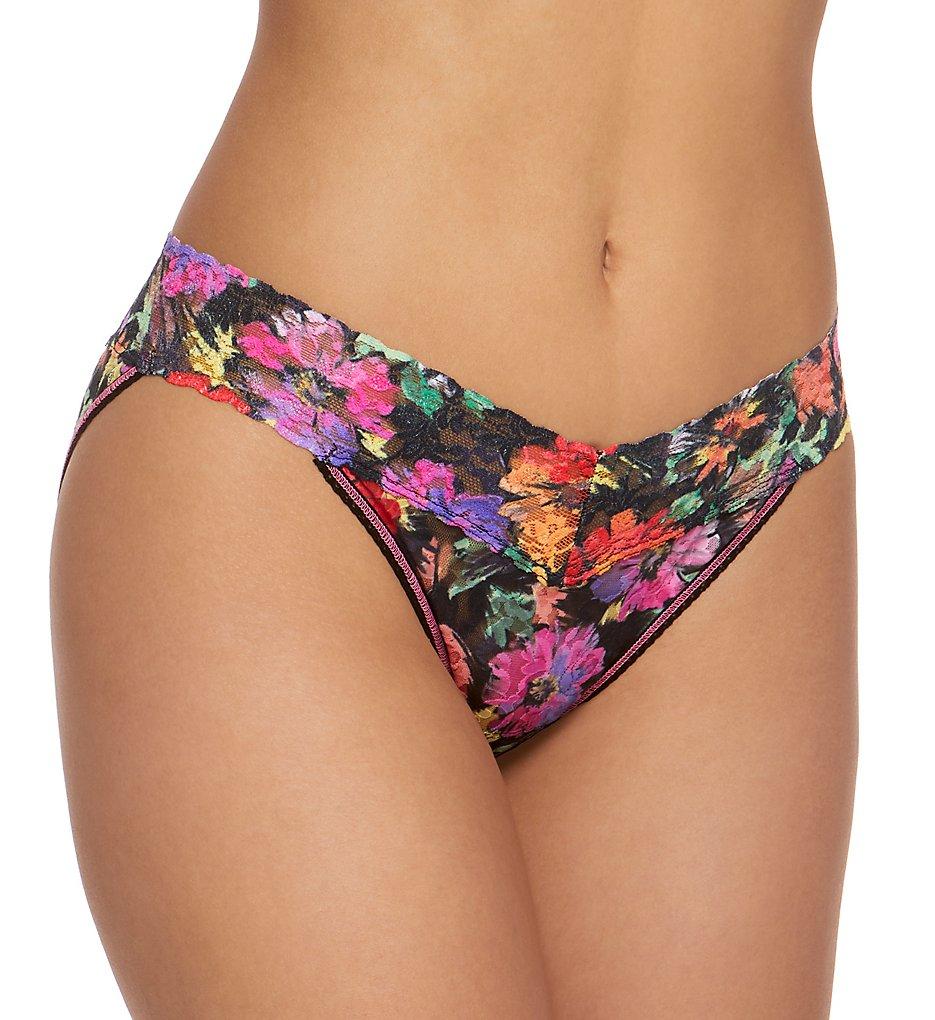 Hanky Panky - Hanky Panky 482374P Signature Lace Pattern V-kini Panty (Summer Nights S)
