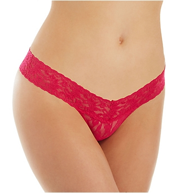 Hanky Panky Signature Lace Petite Low Rise Thongs - 5 Pack