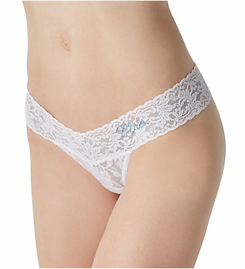 Hanky Panky Bride and Mrs Low Rise Thong Pack