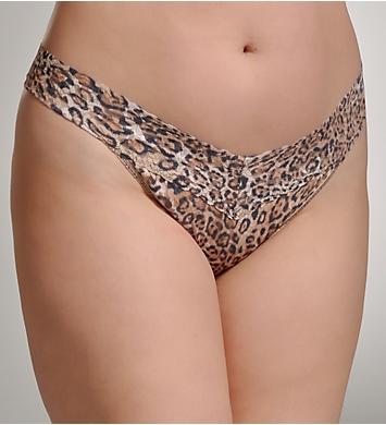 Hanky Panky Leopard Nouveau Plus Size Original Rise Thong
