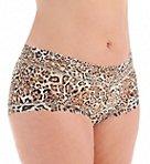 Leopard Nouveau Plus Wide Band Boyshort Panty