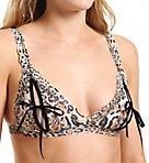 Leopard Nouveau Signature Lace Peek a Boo Bralette