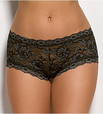 Hanky Panky Cross Dyed Signature Lace Boyshort Panty