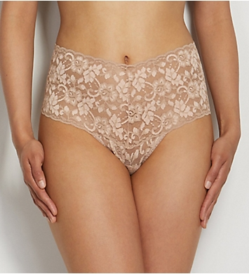 Hanky Panky Cross Dye Retro Thong Signature Lace