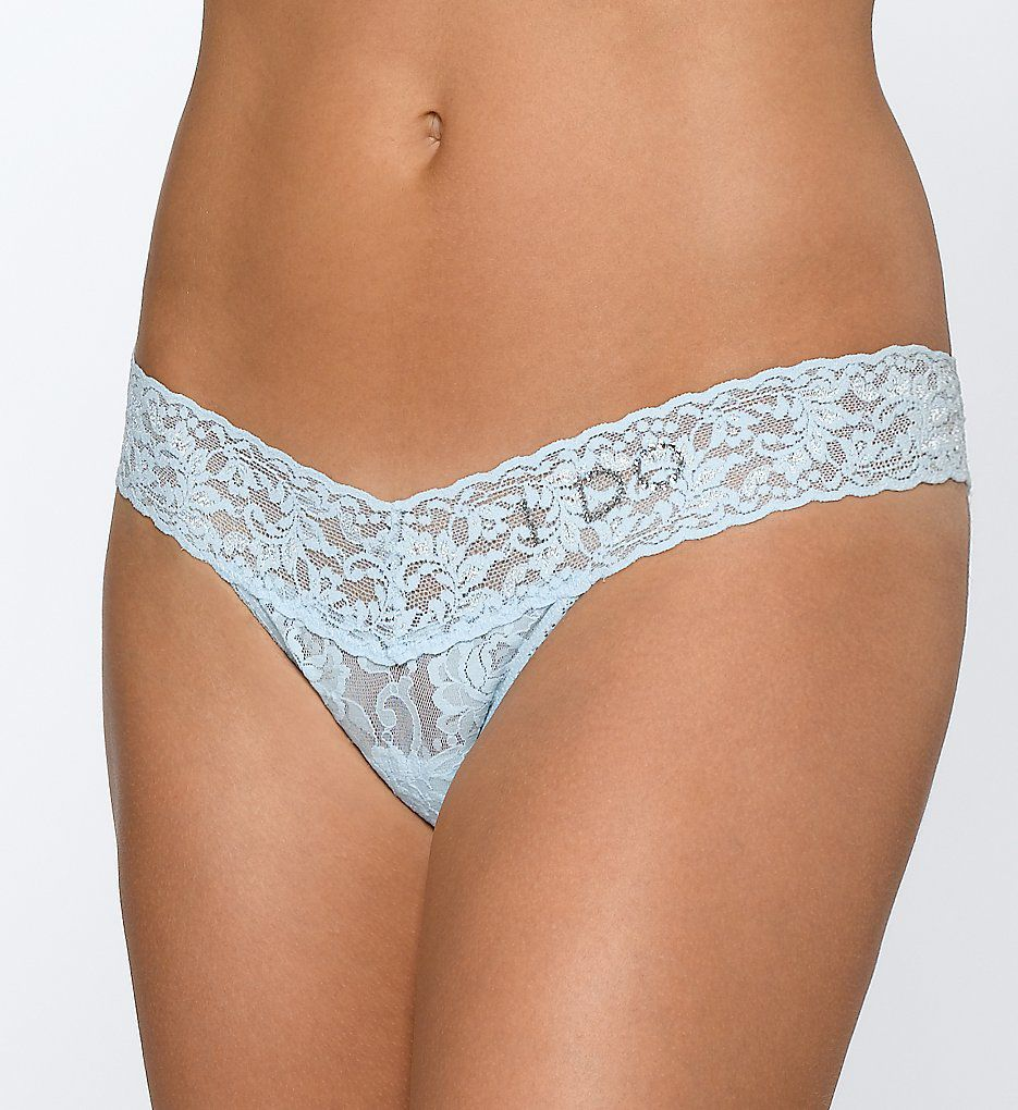 Hanky Panky I Do Low Rise Lace Thong