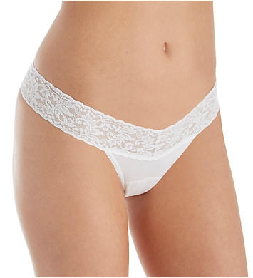Hanky Panky Organic Cotton Petite Low Rise Thong