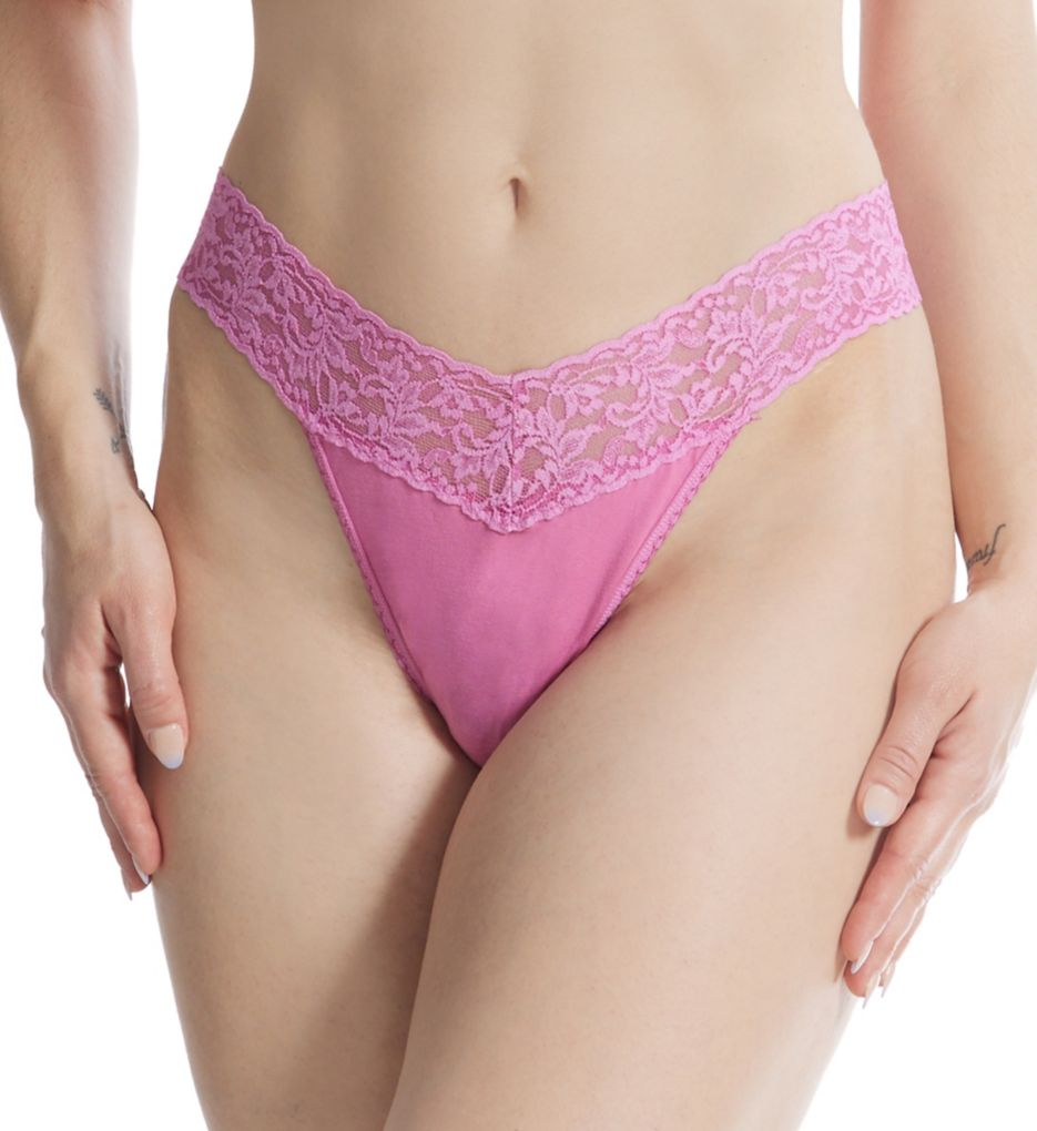 Hanky Panky Cotton With A Conscience Original Rise Thong