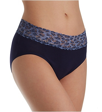0fd95e9cabd2 Hanky Panky Organic Cotton French Brief with Contrast Trim 892441 ...