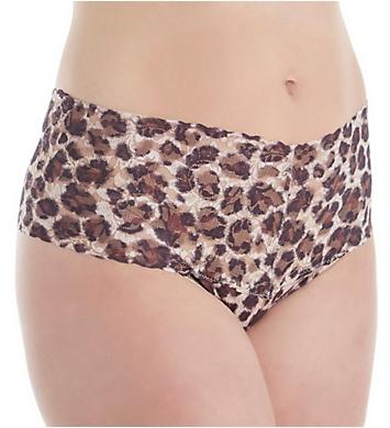 Hanky Panky Plus Size Pattern Retro Lace Thong