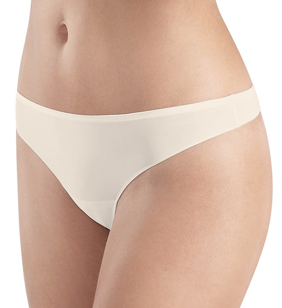 Hanro - Hanro 1455 Allure Thong Panty (Off White XS)