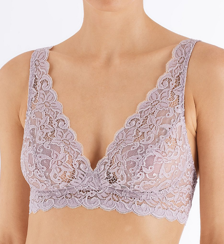 Hanro 1465 Luxury Moments All Lace Soft Cup Bra (Pastel Grey)